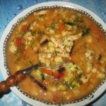 Zupa z piersi kurczaka z...