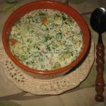Zupa koperkowa z kluseczk...