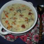 Zupa z kurkami i kluseczk...