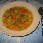 Zupa z kapusta pekinska