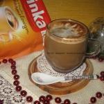Kawa inka o smaku karmelo...