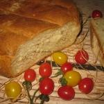 Chleb z siemieniem...