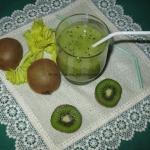Zielony koktajl z selera...