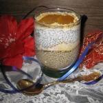 Deser z chia i cykoriadą