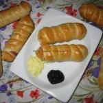 Hot-dogi w ciescie drozdz...