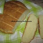 Chleb z serkiem wiejskim