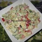 Szybka sałatka warzywna