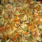 Piers z warzywami