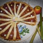 Tarta z rabarbarem i jabl...