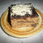 Ciasto kawowo-migdałowe