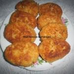 Kotlety rybno- ryżowe
