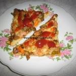 Pizza na smietanowo-drozd...
