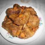 Żeberka  w curry