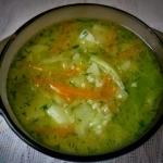 Zupa kapuśniak z kaszą