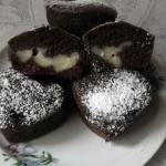 Mufinki czekoladowe  z...