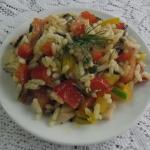 Salatka z ryzem Sonko
