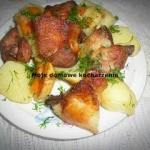 Golonka  z ziemniakami w...