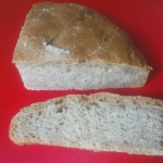 Chleb z prazona smietana ...