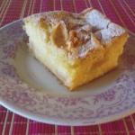 Ciasto z kisielem i jablk...