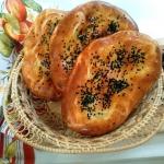 Chlebki Naan z...