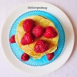 Żytnie pancakes bez jaje...