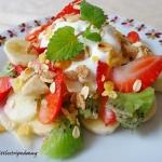 Salatka owocowa z musli