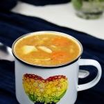 Gęsta zupa z czerwonej...