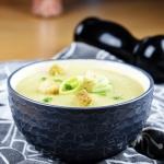 Kremowa zupa z porow