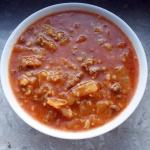 Gęsta Zupa Gołąbkowa