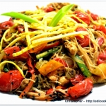 Makaron  stir-fried z...
