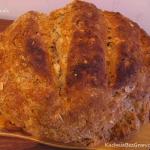 Chleb mieszany z soda