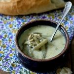 Zupa ze świeżej fasoli...