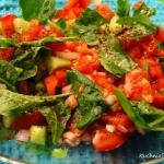 Salatka z rukolą