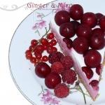 Sernik owocowy na zimno