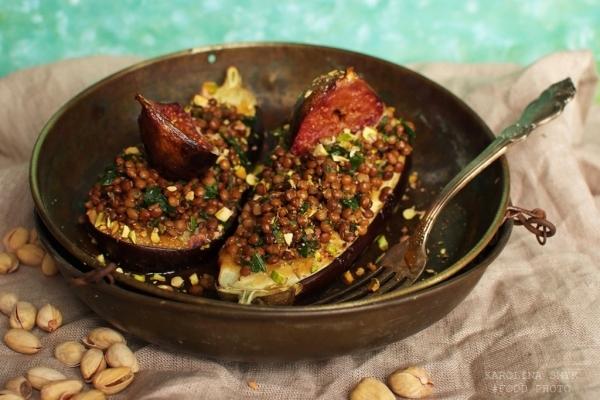 Nadziewane Bakłażany Kuchnia Arabska A Dupa Rośnie