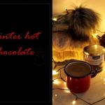 Zimowa gorąca czekolada...