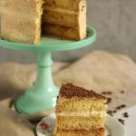 Tort kawowo - różany!...