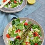 Salatka z grillowanymi wa...