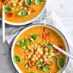 Szybkie curry z dyni z...