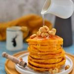 Bardzo puszyste pancakes ...