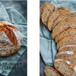 Rustykalny chleb z gara...