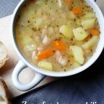Jesienna zupa fasolowa z...