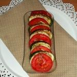 Cukinia z pomidorami...