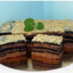 Ciasto na herbatnikach ...