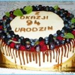 Tort urodzinowy z okazji ...