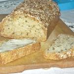 Chleb z ziarnami bez...