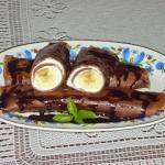 Nalesniki czekoladowe z s...