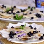 Pierogi jagodowe z serem
