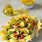 Meksykanska salatka z nac...