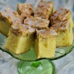Ciasto kefirowe z rabarba...